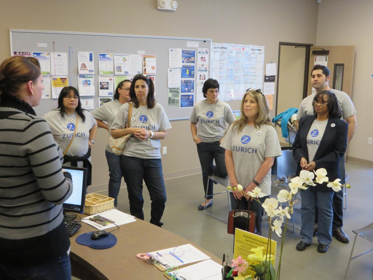 Zurich Employees Volunteer With Two United Way Certified