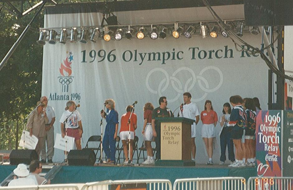 "1996 Olympic Torch Relay ""Run for the Torch"""