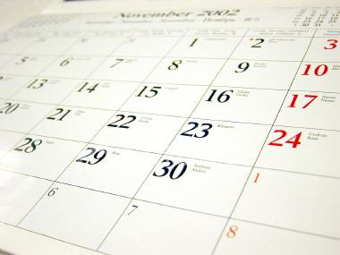 Image of Calendar of Events