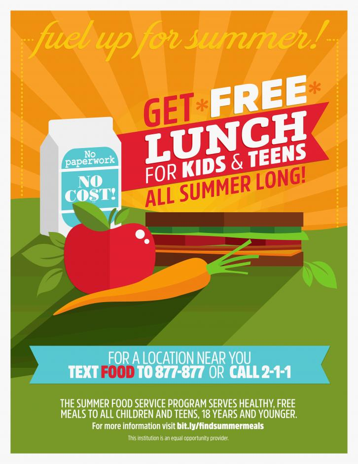Image of Help spread the word about free summer meals