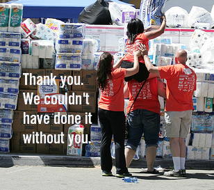 Image of THANK YOU FOR VOLUNTEERING!