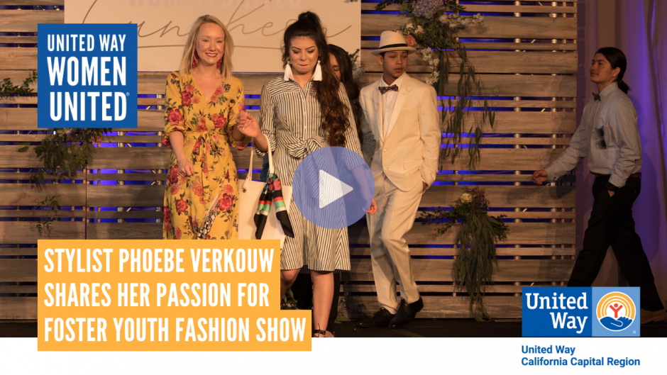 Phoebe the fashion show stylist video