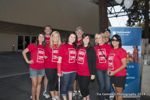 United Way team members posing for a picture at Day of Caring.
