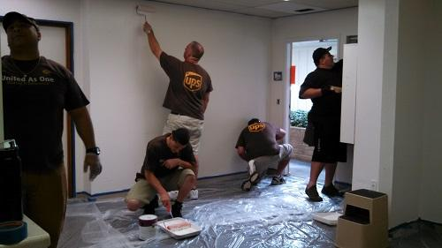 UPS volunteers earn their stripes at CoRR in Roseville