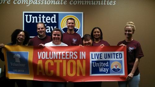 Volunteers from The Hartford (and Donna) are ready to take ACTION to support their Sacramento Community