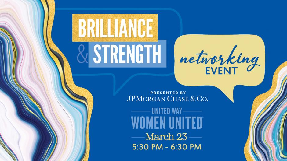 Brilliance & Strength Networking Event presented by JPMorgan Chase & Co.